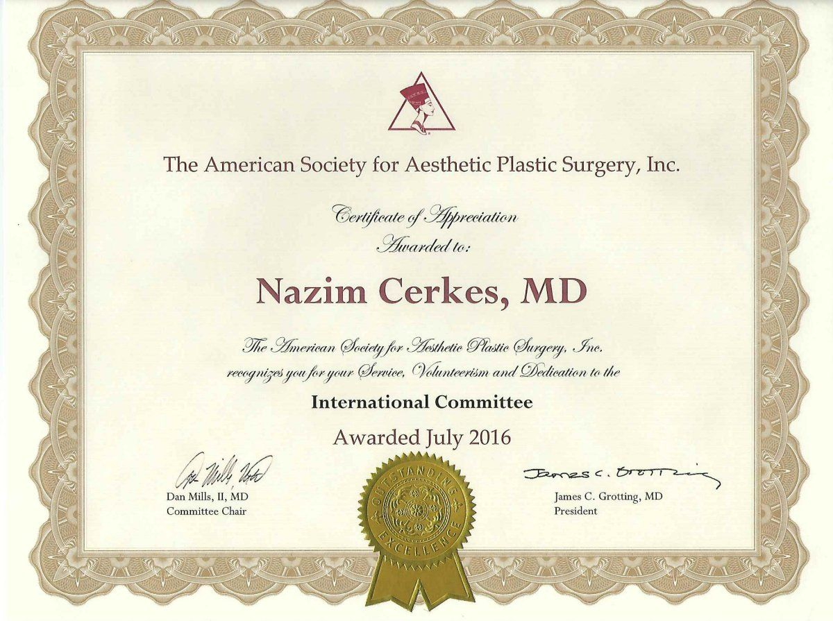 certificate-american-society-aesthetic-plastic-surgery